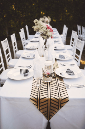 Striped Wedding Place Cards Wedding Paper Divas Feather Love Photography 300x453 Wedding Stationery Inspiration: Black + White Stripes