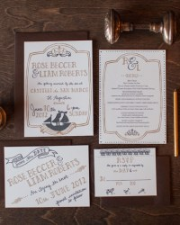 Letterpress Wedding Invitations by 9th Letter Press (7)
