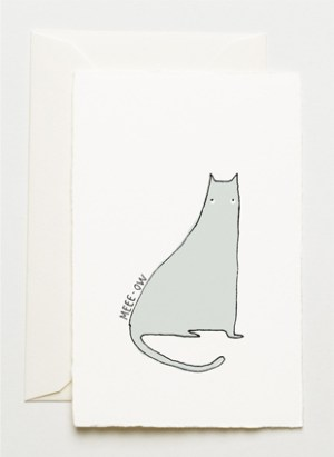cat 300x411 Stationery A – Z: Pet Sympathy Cards