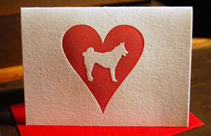 norwegian elkhound1 Stationery A – Z: Pet Sympathy Cards