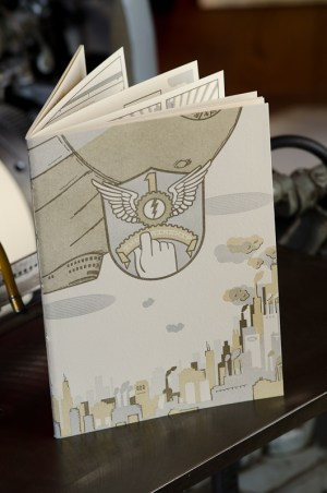 Airship Letterpress Graphic Novel Angel Bomb Design 12 300x452 Airship: A Letterpress Graphic Novel