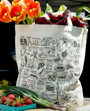 Melangerie State Food Tote 300x368 Quick Pick: Mélangerie State Prints + Totes