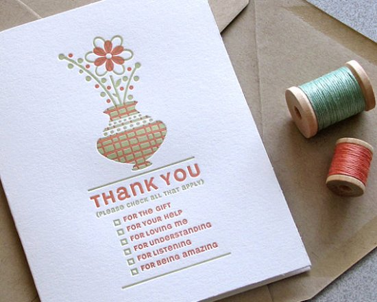 thankyou all that apply 550x440 Stationery A – Z: Thank You Cards