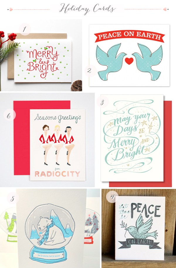 2012 Holiday Cards Part9 Seasonal Stationery: 2012 Holiday Cards, Part 5