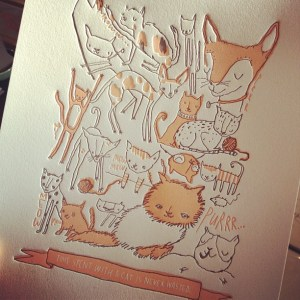 Gilah Press Cat Print Holiday Heap 300x300 {happy weekend!}