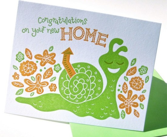 Pup and Pony New Home Card 550x451 Stationery A – Z: New Home Congratulations Cards