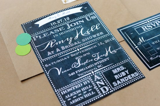 School House Chalkboard Inspired Paper Goods The Paper Suite 550x365 Youve Got Mail School Inspired Paper Goods