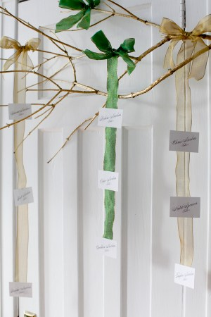 Emerald Wedding Place Cards Paper and Parcel Dallas Curow Photography 300x450 Wedding Stationery Inspiration: Emerald