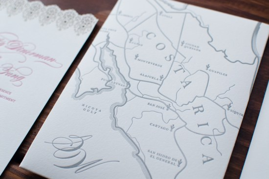 Illustrated Destination Wedding Invitations Heritage and Joy5 550x367 Samantha + Williams Illustrated Map Destination Wedding Invitations