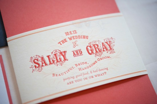 Map Travel Inspired Wedding Invitations Gus and Ruby Letterpress3 550x365 Sally + Grays Maine Map Destination Wedding Invitations