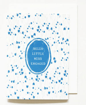 Mr Boddington Miss Engaged Congratulations Card1 300x363 Stationery A – Z: Engagement Congratulations Cards