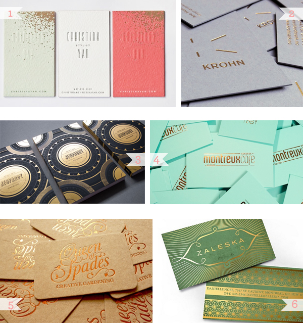 Business Card Inspiration Gilded2 Business Card Ideas and Inspiration #14 | Gilded