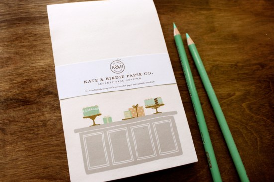 NSS 2013 Sneak Peek Kate and Birdie Notepads 550x366 NSS Sneak Peek: Kate & Birdie