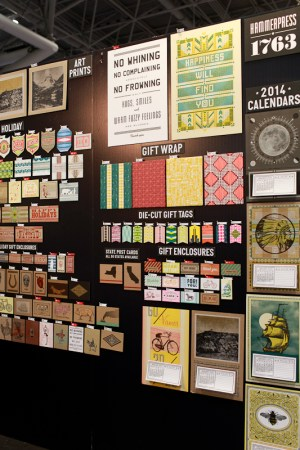 National Stationery Show 2013 Oh So Beautiful Paper Hammerpress 1 300x450 National Stationery Show 2013, Part 8