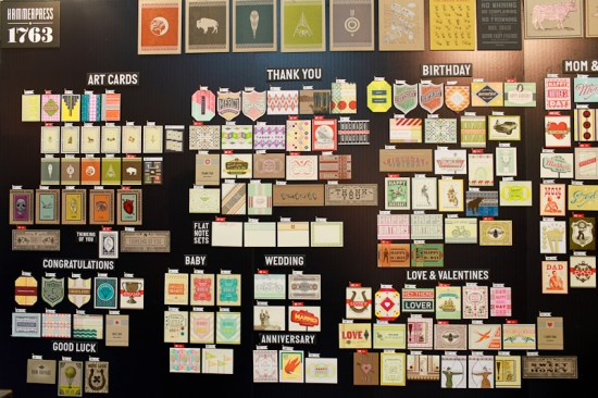 National Stationery Show 2013 Oh So Beautiful Paper Hammerpress 18 550x366 National Stationery Show 2013, Part 8