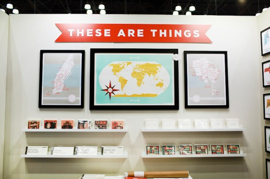 National Stationery Show 2013 Oh So Beautiful Paper These Are Things 1 550x366 National Stationery Show 2013, Part 2