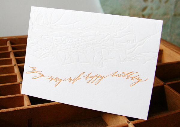 Blackbird Letterpress Betsy Dunlap Greeting Cards9 Quick Pick: Blackbird Letterpress + Betsy Dunlap