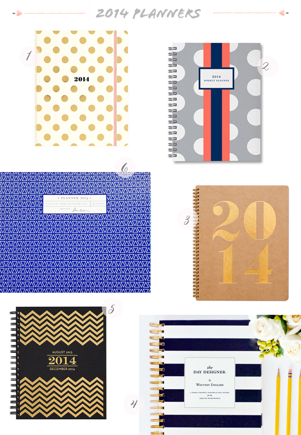 2014 Stylish Planners3 Seasonal Stationery: 2014 Planners