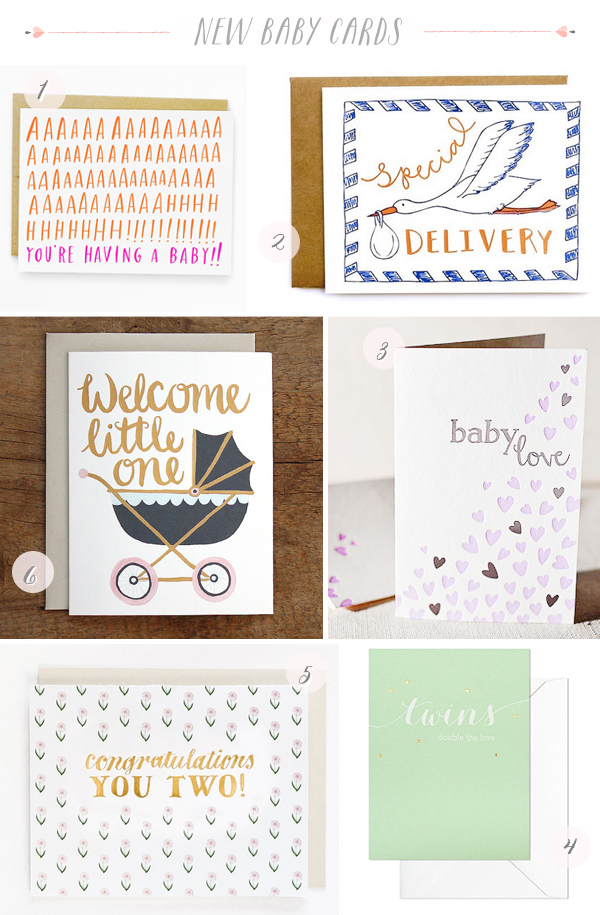 Stationery A Z New Baby Cards Stationery A   Z: New Baby Cards
