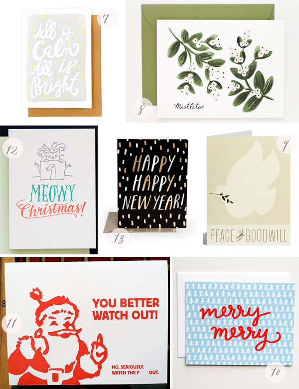 2013 Holiday Cards Part4 Seasonal Stationery: 2013 Holiday Cards, Part 2