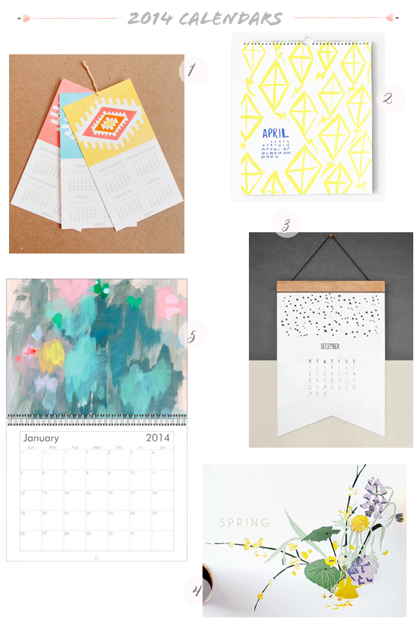 2014 Calendars Part6 Seasonal Stationery: 2014 Calendars, Part 5
