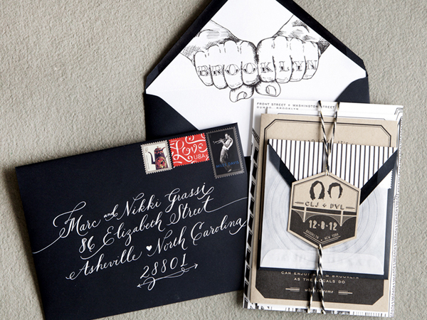 Brooklyn Wedding Invitations Swiss Cottage Design2 Best of 2013: Wedding Invitations