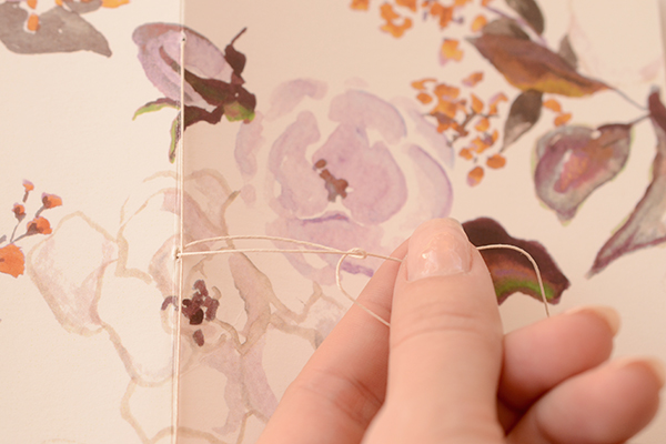 Journal Step6 7 DIY Tutorial: Handmade Patterned Notebooks