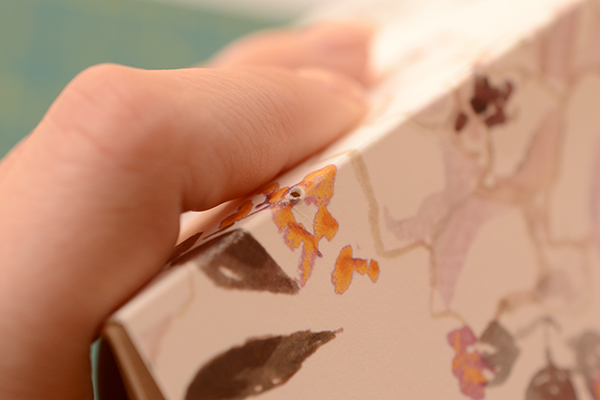 Journal step5 2 DIY Tutorial: Handmade Patterned Notebooks