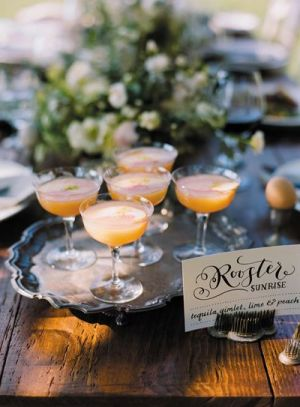 Signature Drink Sign Ashley BUzzy McHugh Ali Harper 300x412 Wedding Stationery Inspiration: Signature Drink Signs