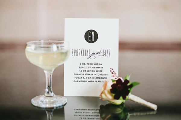 Signature Drink Sign Chips and Salsa Design Studio Lauren Peele Photography Wedding Stationery Inspiration: Signature Drink Signs