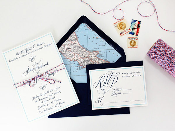 Travel Inspired Wedding Invitations Ruby the Fox2 Best of 2013: Wedding Invitations