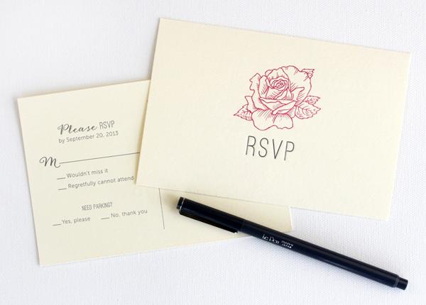 Classic Elegant Floral Wedding Invitations Rafftruck3 Danna + Hillarys Classic Floral Wedding Invitations
