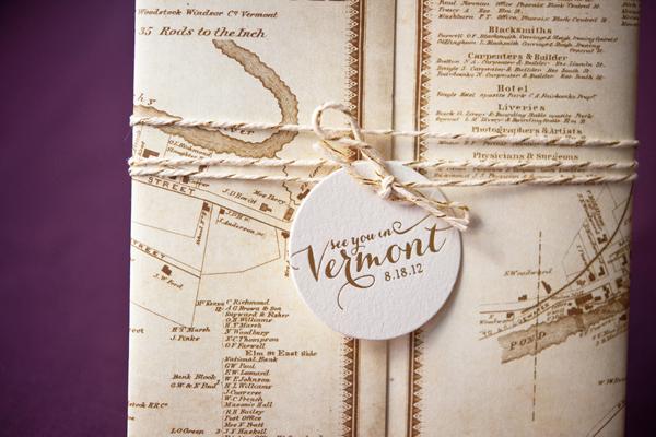 Elegant Gold Foil Wedding Invitations Gus Ruby Letterpress3 Geri + Bryces Elegant Gold Foil Wedding Invitations