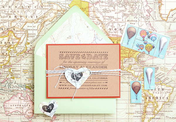 maps final1 DIY Tutorial: Travel Inspired Save the Date