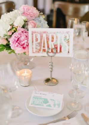 Bold Floral Table Numbers Aaron Fetter Hunter Photographic 300x420 Wedding Stationery Inspiration: Bold Florals