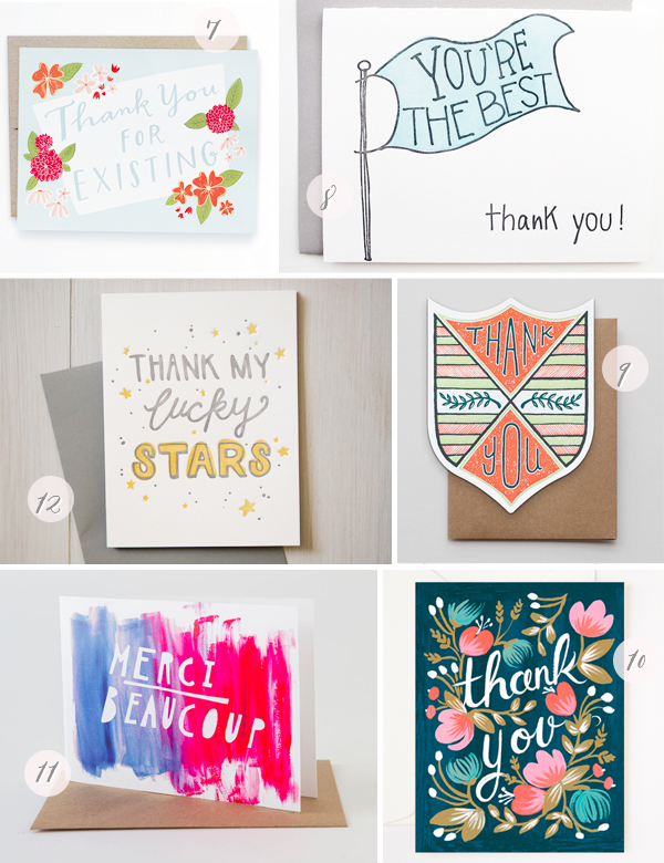 Stationery A Z Thank You Cards2 Stationery A   Z: Thank You Cards