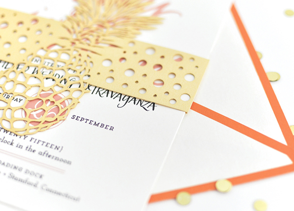 Preppy Palm Beach Wedding Invitations Coral Pheasant3 Preppy Palm Beach Wedding Stationery Inspiration