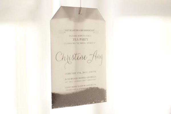 Tea Bag Bridal Shower Invitation Joy Ang5 Joys DIY Tea Bag Bridal Shower Invitations