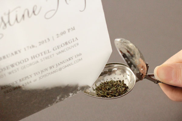 Tea Bag Bridal Shower Invitation Joy Ang8 Joys DIY Tea Bag Bridal Shower Invitations
