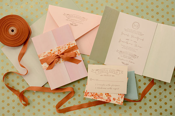 Watercolor Fold Final DIY Tutorial: Spring Watercolor Wedding Invitation Suite