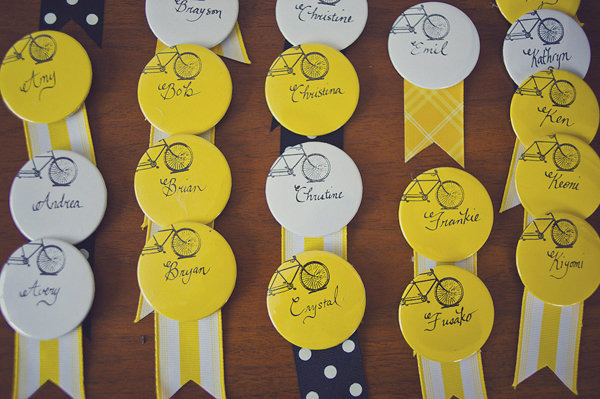 Yellow Escort Buttons Encarnacion Photography Wedding Stationery Inspiration: Sunshine Yellow