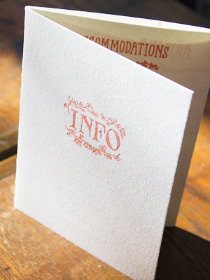 Hand Lettered Wedding Invitations Ladyfingers Letterpress OSBP7 Emily + Mikes Desert Botanical Wedding Invitations