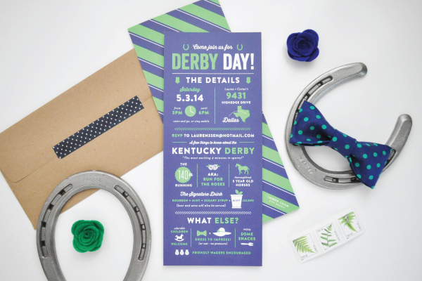 Kentucky Derby Day Invitations Lauren Chism Fine Papers Laurens Kentucky Derby Day Party Invitations