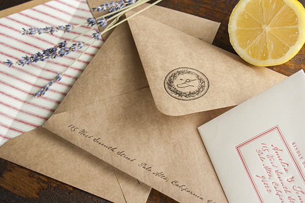 Muslin Bag Vintage Grain Sack Wedding Invitations Lucky Luxe5 Rustic Market Inspired Fabric Wedding Invitations