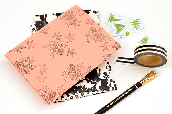 Pattern Stationery FInal 2 DIY Tutorial: Modern Personal Stationery Gift Set