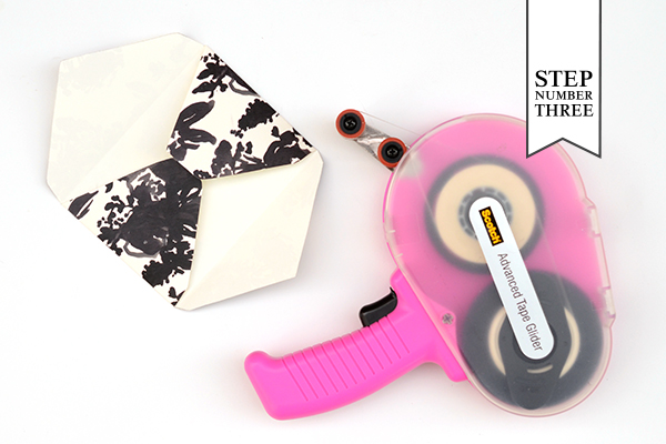 Pattern Stationery Step3 DIY Tutorial: Modern Personal Stationery Gift Set