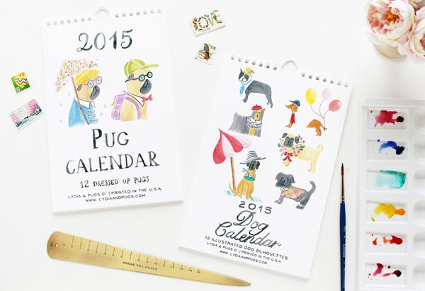 NSS Sneak Peek Lydia and Pugs Calendar NSS 2014 Sneak Peek: Lydia & Pugs