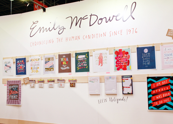 OSBP National Stationery Show 2014 Emily McDowell 5 National Stationery Show 2014, Part 3