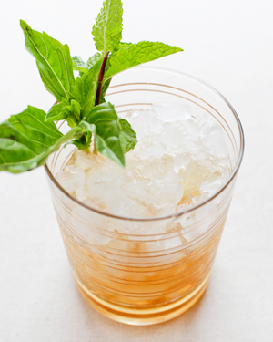 Signature Cocktail Recipe Basil Mint Julep OSBP 11 Friday Happy Hour: The Basil Mint Julep