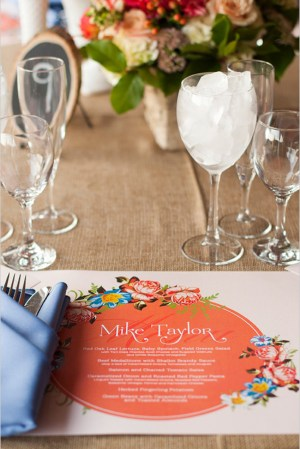 Wedding Placemats Pamela Lepold Photography 300x449 Wedding Stationery Inspiration: Placemats